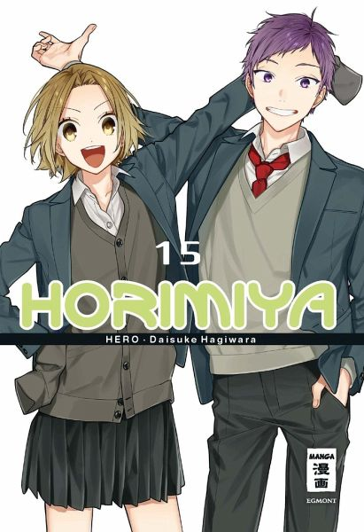 Buch-Reihe Horimiya