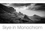 Skye in Monochrom (Wandkalender 2021 DIN A4 quer)