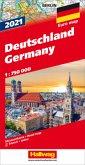 Deutschland 2021 Strassenkarte