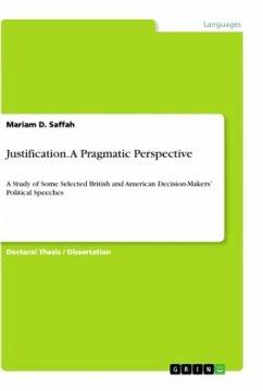 Justification. A Pragmatic Perspective - Saffah, Mariam D.