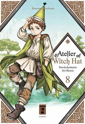 Buch-Reihe Atelier of Witch Hat