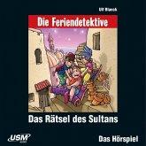 Die Feriendetektive: Das Rätsel des Sultans, 1 Audio-CD