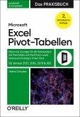 Microsoft Excel Pivot-Tabellen - Das Praxisbuch