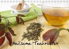 Heilsame Teekräuter (Tischkalender 2021 DIN A5 quer)