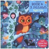 Night Time (Kinderpuzzle), w. Picture book