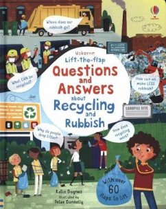 Lift-the-Flap Questions and Answers About Recycling and Rubbish - Daynes, Katie