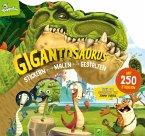 Gigantosaurus Stickern - Malen - Gestalten