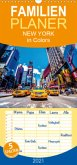 New York in Colors - Familienplaner hoch (Wandkalender 2021 , 21 cm x 45 cm, hoch)