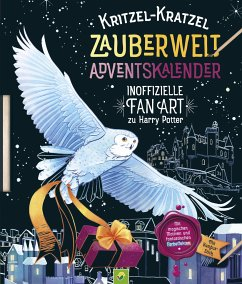 Kritzel-Kratzel Zauberwelt Adventskalender - Bensch, Katharina