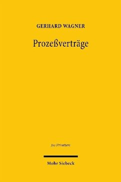 Prozeßverträge - Wagner, Gerhard