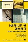 Durability of Concrete (eBook, ePUB)