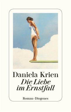 Die Liebe im Ernstfall (Mängelexemplar) - Krien, Daniela