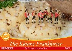 Die Klaane Frankfurter (Wandkalender 2021 DIN A3 quer)