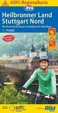 ADFC-Regionalkarte Heilbronner Land - Stuttgart Nord 1:75.000, reiß- und wetterfest, GPS-Tracks Download