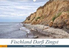 Fischland Darß Zingst - wie gemalt (Wandkalender 2021 DIN A3 quer)