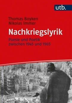 Nachkriegslyrik - Boyken, Thomas; Immer, Nikolas