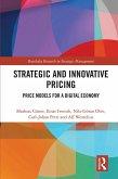 Strategic and Innovative Pricing (eBook, ePUB)