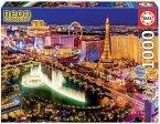 Carletto 9216761 - Educa, Las Vegas NEON, Puzzle, 1000 Teile