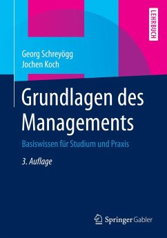 Grundlagen des Managements (eBook, PDF) - Schreyögg, Georg; Koch, Jochen