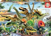 Carletto 9217961 - Educa, Dinosaurier, Puzzle, 500 Teile