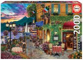 Carletto 9218009 - Educa, Italian Fascino, Puzzle, 2000 Teile