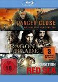 Kriegsfilm-Box: Danger Close, Dragon Blade & Operation Red Sea