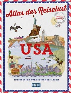 DuMont Bildband Atlas der Reiselust USA - Gloaguen, Philippe