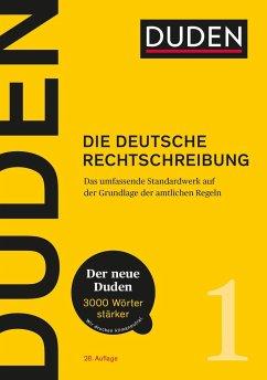 Duden 01 Die deutsche Rechtschreibung - 28. Auflage Ausgabe 2020 - Dudenredaktion