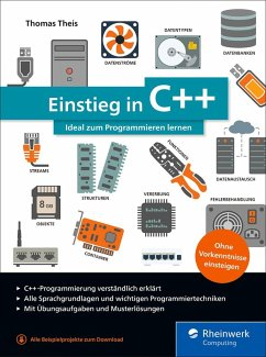 Einstieg in C++ (eBook, ePUB) - Theis, Thomas