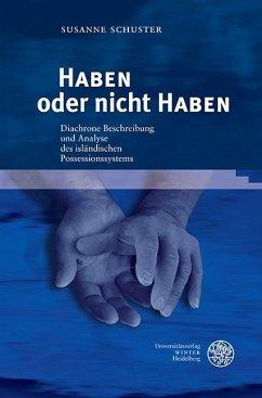 HABEN oder nicht HABEN - Schuster, Susanne
