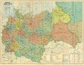 Großdeutsches Reich - Postleit-Gebietskarte, März 1944, 2 Teile