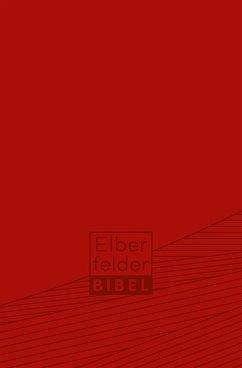 Elberfelder Bibel - Taschenausgabe, ital. Kunstleder rot