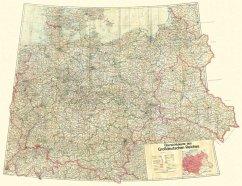 Übersichtskarte des Großdeutschen Reiches - Dezember 1942