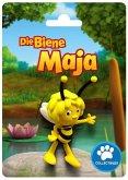 Bullyland 43420 - Biene Maja auf Karte, Spielfigur, 6cm
