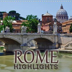 ROME Highlights (Wall Calendar 2021 300 × 300 mm Square)