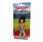 Bullyland 43363 - Yakari, Kleiner Dachs mit Beil, Geschenkset