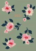 Cath Kidston Khaki Dusk Floral A6 2021 Diary
