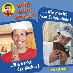 Willi wills wissen, Folge 1: Wie backt der Bäcker? / Wie macht man Schokolade? (MP3-Download)