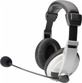 DIGITUS Stereo Multimedia Headset mit Mikrofon 1,8m