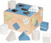 Goki 58463 - Sortier Box, Lifestyle Aqua, 12 Teile