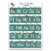Mein Tafel ABC in Grundschrift Lernposter
