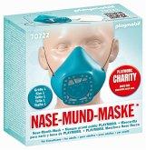 PLAYMOBIL® 70722 Nase-Mund-Maske, Größe L, Farbe türkis (wiederverwendbar)