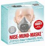 PLAYMOBIL® 70724 Nase-Mund-Maske, Größe M, Farbe hellgrau (wiederverwendbar)