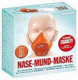 PLAYMOBIL® 70726 Nase-Mund-Maske, Größe S, Farbe orange (wiederverwendbar)