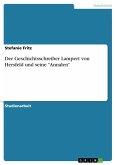 Der Geschichtsschreiber Lampert von Hersfeld und seine
