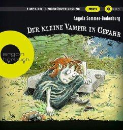 Der kleine Vampir in Gefahr / Der kleine Vampir Bd.6 (1 MP3-CD) - Sommer-Bodenburg, Angela