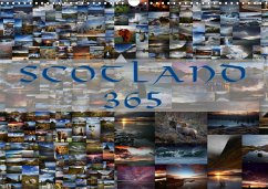 Scotland 365 / UK-Version (Wall Calendar 2021 DIN A3 Landscape)