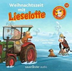 Weihnachtszeit mit Lieselotte / Lieselotte Filmhörspiele Bd.12 (1 Audio-CD) - Steffensmeier, Alexander; Krämer, Fee