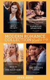 Modern Romance June 2020 Books 1-4: Cinderella's Royal Secret / His Innocent's Passionate Awakening / Beauty and Her One-Night Baby / Claimed in the Italian's Castle (eBook, ePUB)