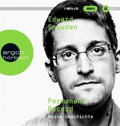 Permanent Record, 2 MP3-CD - Snowden, Edward